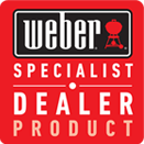 Weber specialist dealer product